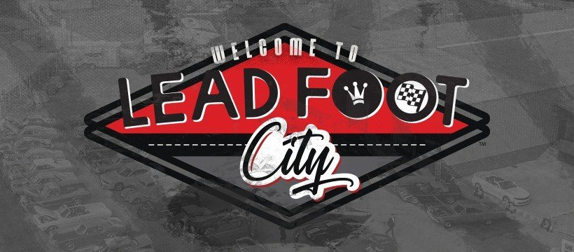 Lead Foot City Logo
